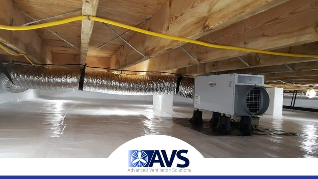 Crawl Space Dehumidifiers in Cherryville, NC, 28021, Gaston County (2964)