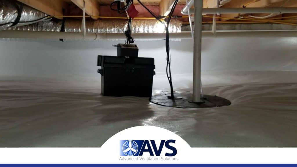 Crawl Space Sump Pumps in Huntersville, NC, 28031, Mecklenburg County (8875)