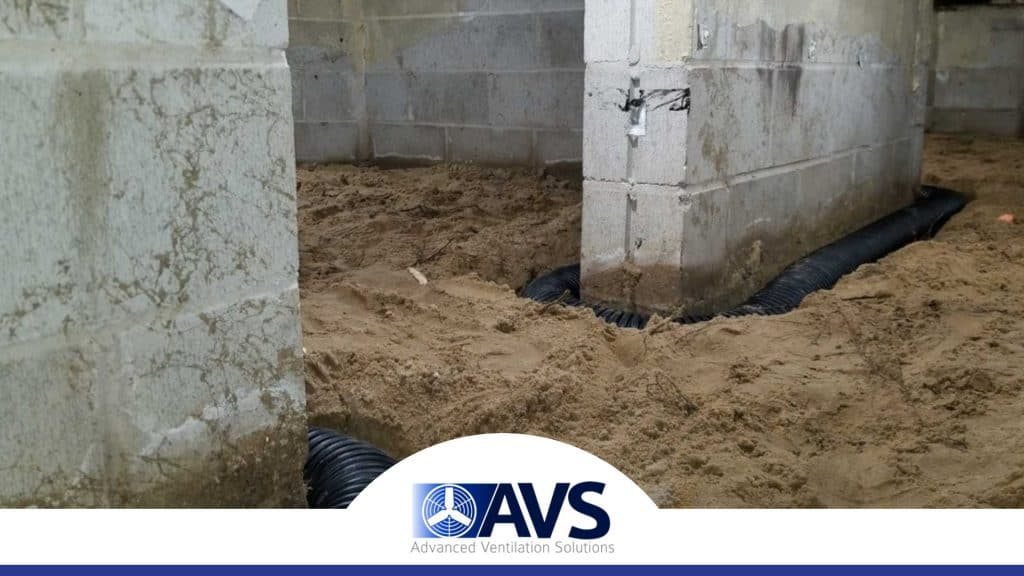 Crawl Space Drainage in Stanley, NC, 28120, Gaston County (5846)