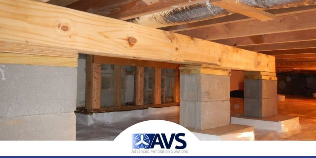 Basement Floor Joist Repair in Hickory, NC, 28601, Burke County (6862)